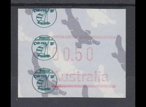 Australien Frama-ATM Sonderausgabe CUP-PEX `87 **