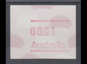 Australien Frama-ATM 4. Ausgabe 1987, Ameisenigel, Ausgabe ohne Postcode **