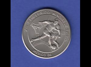 Cuba 1 Peso - Fußball Weltmeisterschaft 1986 in Mexico