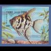 Kambodscha / Cambodge 1992 Mi.-Nr. Block 188 Fisch Segelflosser **