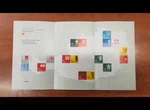 Österreich 2018 Dauermarkenserie Heraldik II offizieller Sonderdruck der Post