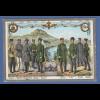 AK Verband sächsicher Eisenbahn Assistenten gelaufen 1909 nach Pasing