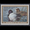 USA 1990 Gebührenmarke migratory bird hunting and conversation stamp 12,50$ **