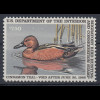 USA 1986 Gebührenmarke migratory bird hunting and conversation stamp 7,50$ **