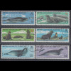 Britische Antarktis 1983 Robben-Schutzvertrag Mi.-Nr. 98-103 Satz 6 Werte O