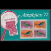Suriname 1977 Vögel AMPHILEX 77 Mi.-Nr. Block 19 **