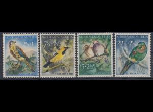 Niederländische Antillen 1958 Vögel Mi.-Nr. 66-69 Satz 4 Werte **