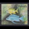 Afghanistan 1998 Fische Blockausgabe Mi.-Nr. Block 104 **