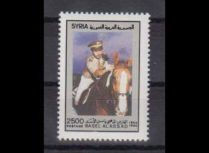 Syrien 1994 Reiter auf Pferd Mi.-Nr. 1902 **