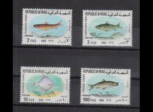 Irak 1969 Fische Mi.-Nr. 548-51 kpl. Satz 4 Werte **