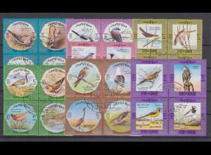 Kuwait 1973 Vögel Mi.-Nr. 578-605 Teil-Satz 28 Werte gestempelt