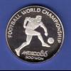 Volksrepublik Korea 500 Won - Fußball Weltmeisterschaft 1986 in Mexico Ag999
