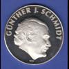 Silbermedaille 75 Jahre Togal-Werk München/ Günther J. Schmidt Ag1000