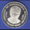 Silbermedaille 25 Jahre BRD/ 1. Bundespräsident - Theodor Heuss Ag925