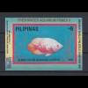Philippinen 1993 Buntbarsch Mi.-Nr. Block 66 **