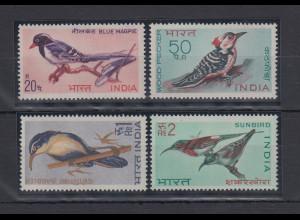 Indien 1968 Vögel Mi.-Nr. 464-467 kpl. Satz 4 Werte **