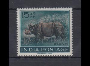 Indien 1962 Panzernashorn Mi.-Nr. 346 **