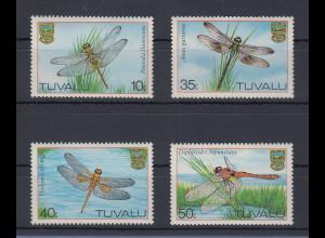 Tuvalu 1983 Libellen Mi.-Nr. 190-93 Satz 4 Werte **