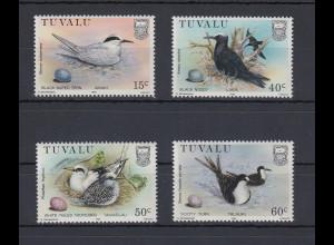 Tuvalu 1985 Vögel Mi.-Nr. 284-287 Satz 4 Werte **