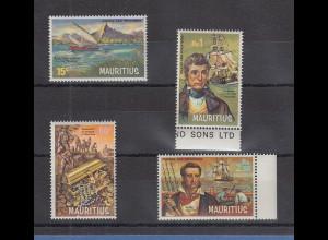 Mauritius 1969 Piraten und Freibeuter Mi.-Nr. 387-390 kpl. Satz 4 Werte **