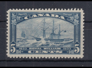 Kanada / Canada 1933 Sondermarke Segelschiff Royal William Mi.-Nr. 174 ** / MNH