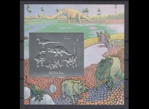 Guyana 1993 Dinosaurier Mi.-Nr. Block 346 **