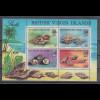 Jungferninseln / Virgin Islands 1974 Muscheln Mi.-Nr. Block 4 postfrisch **