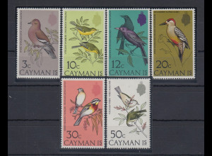 Kaiman-Inseln / Cayman Islands 1974 Vögel Mi.-Nr. 321-326 **