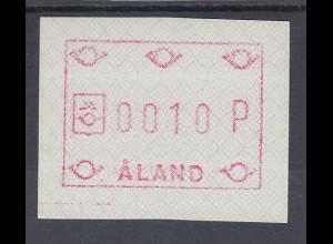 Finnland Aaland 1989 FRAMA-ATM Ornamente, Mi.-Nr. 3 x **