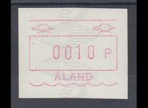 Finnland Aaland 1990 FRAMA-ATM Wellen und Spiralen, Mi.-Nr. 4 **