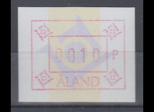 Finnland Aaland 1993 FRAMA-ATM neues Postemblem, mit Wasserz. , Mi.-Nr. 5yc **