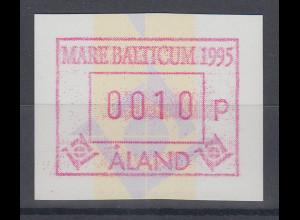 Finnland Aaland 1995 FRAMA- Sonder-ATM MARE BALTICUM `95, Mi.-Nr. 6 **