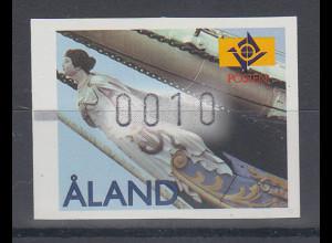"""Finnland Aaland 1997 FRAMA-ATM Gallionsfigur """"Mneme"""" , Mi.-Nr. 8 **"""
