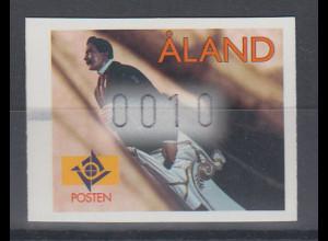"Finnland Aaland 1998 FRAMA-ATM Gallionsfigur ""Walter Wilson"" , Mi.-Nr. 9 **"