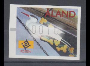 "Finnland Aaland 1999 FRAMA-ATM Gallionsfigur ""Tärnan"" , Mi.-Nr. 10 **"