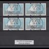 Portugal 1995 ATM Karavelle Mi.-Nr. 5 Satz 45-78-98-140 mit ZN, Voll-O 19.4.96