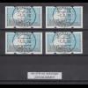 Portugal 1995 ATM Karavelle Mi.-Nr. 5 Satz 45-78-98-140 mit ZN, Voll-O 7.8.96
