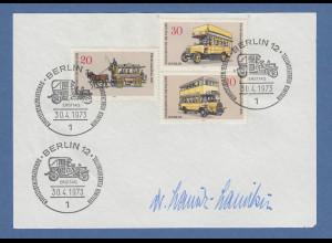 Dr. Lauritz Lauritzen Bundesminister für Verkehr original-Autogramm 1973