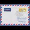 Bund ATM 5. Ausgabe Wert 1,53 € auf Brief nach Chile mit So.-O HAMBURG 21.8.2002