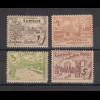 Lokalausgaben Cottbus 1946 Mark-Werte ohne Unterdruck Mi.-Nr. 21-24 Satz **