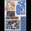 Frankreich 1961 Braque, Matisse, Cezanne, Fresnaye Mi.-Nr. 1372-75 Maximumkarten