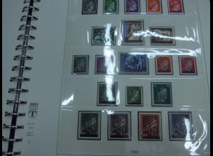 Österreich 1945-1954 fast komplett (Mi.-Nr. 738-1011 kpl.)** Michel ca. 2150 €