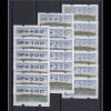 Bund ATM Sanssouci Mi.-Nr. 2.1.1 - 2.1.2 - 2.2.1 je VS-Satz 6 Werte 80-400 **