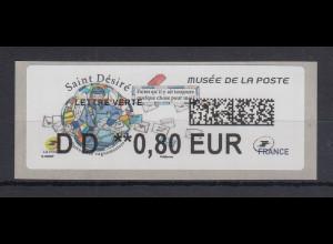Frankreich 2018 ATM Postmuseum Saint Désiré Wert DD 0,80 EUR **
