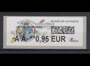 Frankreich 2018 ATM Postmuseum Saint Désiré Wert AA 0,95 EUR **