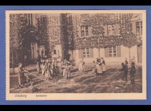 Alte AK 84453 Ecksberg Spielplatz, unbeschrieben