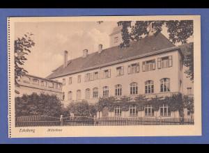Alte AK 84453 Ecksberg Mittelbau, unbeschrieben