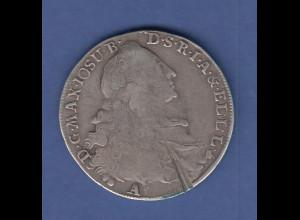 Bayern Max Josef Wappentaler 1767