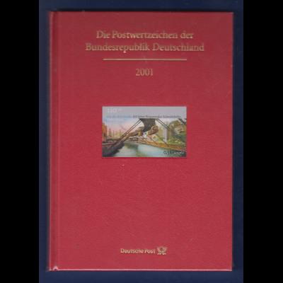 Briefmarken JAHRBUCH Bundesrepublik Deutschland 2001 kpl. bestückt OVP