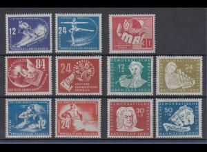 DDR 1949-50 Lot verschiedene kpl. Ausgaben **, Michelwert ca 150,- €